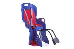 Кресло детское быстросъемное BQ-8, NEW VISION, крепление заднее на подседельный штырь/багажник, регулировка для ног, нагрузка 22 кг, синее (УТ00019199)