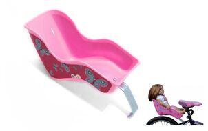 Сиденье для кукол (для детского велосипеда) на багажник, розовое (УТ00019454)