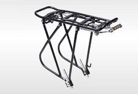 """Багажник задний, алюминиевый, регулируемый, 24-29"""", V-brake., максимальная грузоподъемность до 25кг, HS-H042"""