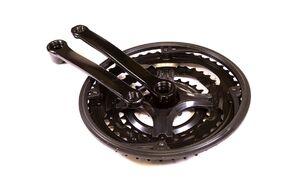 """Комплект шатунов (система) 28/38/48Т, 170 мм, 9/16"""", FWD-ST05, сталь, с пластик. защитой (черный, ST05-S2848SG)"""