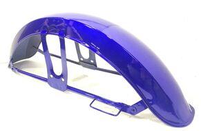 Крыло переднее в сборе ALPHA синие, металл
