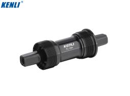 Каретка-картридж KENLI KL-09A алюминиевый корпус, промподшипники, чашки алюмин., SQR, 68 мм, 127 мм (УТ00020672)