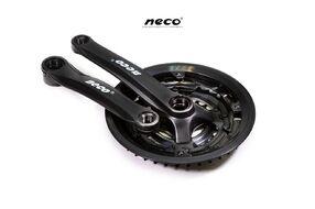 """Комплект шатунов (Система), D-EDх3 """"NECO"""",  NSP3002, длина 170 мм, 24/34/42, с пластиковой защитой (черный)"""