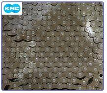 """Цепь KMC (Z-1) 1 скор. (112 звеньев) тормозная, 1/2""""X1/8"""", с замком, OEM (KMC-S1OEM)"""