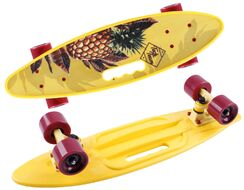 Скейтборд Fishboard 23 print yellow (NN004157)