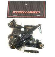 Тормозные рычаги MX-B004 V-brake с тормозными колодками 70 мм.