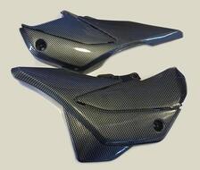 пластик боковой передний (пара) Racer RC200GY-C2, RC250GY-C2 Panther (карбон)