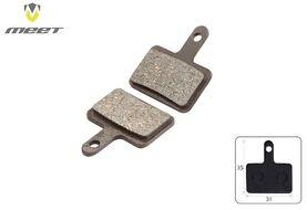 Тормозные колодки MEET для дискового тормоза (TEKTRO Aurigo/Drago/HDC300, SHIMANO 315-575) TP-01B