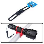 Крепление для фонаря, силикон, LC-9105 (черный, УТ00019544)