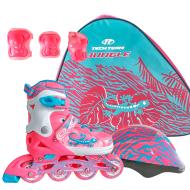 Набор Jungle Set: роликовые коньки  защита, шлем (р.34-37/XS) (JungleSetXS)
