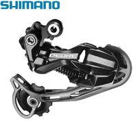 Переключатель задний SHIMANO, DEORE, RD-M592, 9 скор., крепление (на болт) под петух, SHADOW, SGS (KRDM592SGS)