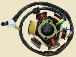 статор генератора 152QMI, 157QMJ, ATV150  (6 кат.)