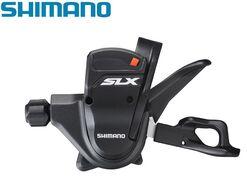 Рукоятка переключения передач левая SHIMANO SLX, SL-M670, 2/3 ск., триггер (черный, CSL200000212)