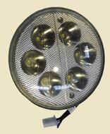 фара головного света (отражатель) LED 6 лампочек светодиодная