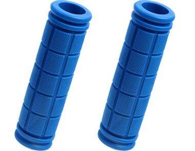 Рукоятки руля (грипсы, комплект), 120мм, резиновые, Joykie #0