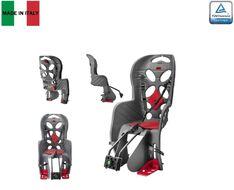 Кресло детское быстросъемное FRAACH-T, крепление заднее, дугой на раму, нагрузка 22 кг, HTP, Италия (темно-серый, УТ00019389)