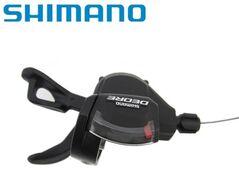 Рукоятка переключения передач левая SHIMANO DEORE SL-M610, 2/3 ск., триггер (черный, CSL300000136)