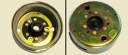 магнето генератора (ротор) 2T STELS 50сс