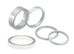 Кольцо проставочное рулевое HB-02AL анодированное 10 мм (цена за 1 шт., упаковка 10 шт.) (silver, 13SAAS000013)