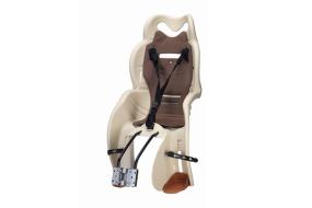 Кресло детское, быстросъемное, HTP-110BG, крепление заднее, дугой на раму, нагрузка 22 кг, Италия (бежевый/серый, FWDHTP110BG)
