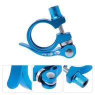 Хомут подседельного штыря с эксцентриком, 28,6 мм (синий, H28.6BLUE)