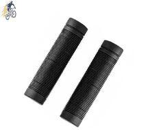 Рукоятки руля (грипсы, комплект) 120 мм, резиновые, HL-G40 (черный, УТ00021078)