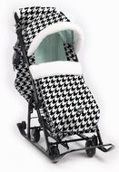 Санки-коляска детские Ника Детям 7-5 (гусиная лапка)