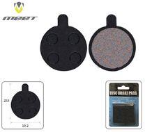 Тормозные колодки MEET для дискового тормоза ZOOM, POWER, BOLIDS, Hayes Sole, блистер, TP-11С (УТ00019070)