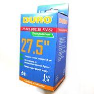 Камера 27,5x2,20/2,35 легкая (166 гр, 0,6 мм)  (56/60-584) DURO (DHB01047)
