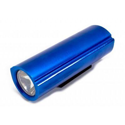 Фара XC-983 передняя алюминиевая, 1 яркий светодиод Joykie (синий) #0