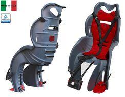 Кресло детское быстросъемное SANBAS-T, крепление заднее, дугой на раму, нагрузка 22 кг, HTP, Италия (темно-серый, УТ00019393)
