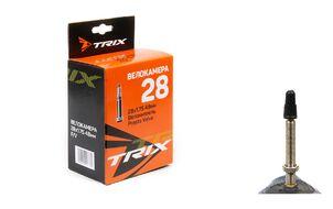 Камера 28x1,75 бутил, вело-ниппель (Presta), F/V-48 мм, TRIX (УТ00020257)