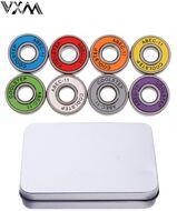 Набор для самоката/скейтборда: 8 подшипников ABEC 11 (Multicolor), металлический бокс (УТ00021273)