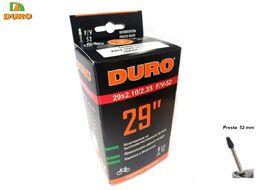 Камера 29x1,95/2,125 бутил, Presta F/V-52 мм, DURO (DHB01097)