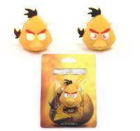 "Фонарь детский "" Злые птички"" силикон, 2 LED, 3 реж., блистер (желтый)"