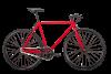 BEARBIKE Detroit (700C 1 ск. рост 500 мм) 2021, красный матовый