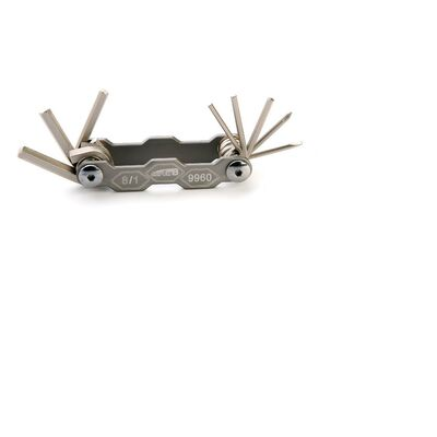 Ключ многофункциональный, 9960, 8 шт., Набор шестигранников, Super B #0