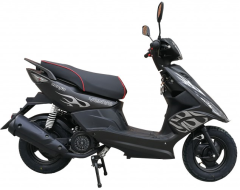 Скутер VENTO Corsa TMEC50QT-9A 49 л.с., черный (ScVCorsaB)