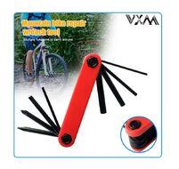 Набор инструментов VXM, складной, 8 предметов, шестигранники 2/2.5/3/4/5/6 мм, 2 отвертки, VX-9808 (УТ00019540)