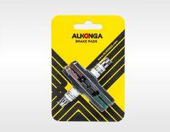 "Тормозные колодки ""ALHONGA"", V-Brake, 72мм,  блистер, Тайвань (черно-коричн.-зеленые, FWD3122635-12)"