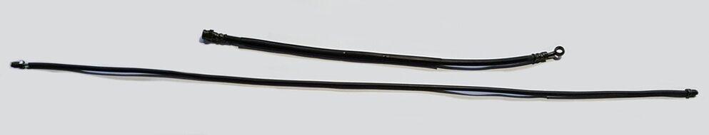шланг тормозной (вакуумный)  165 см