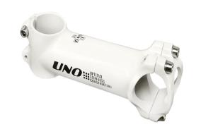 Вынос руля AS-027N, UNO, нерегулируемый, безрезьбовой, 31,8 мм, 28,6 мм, -7, 40 мм, 80 мм, KALLOY (белый, 1SMAWH200012)