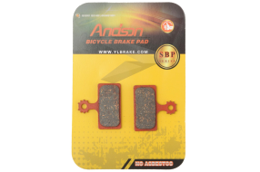 Тормозные колодки (SBP-1016), для диск. тормоза, Shimano SLX M666, BR-M985, XTR 2011, XT BR-M785, ANDSON