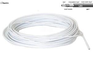 Оплетка троса переключения Jagwire LEX, Ø 4 мм 1 пог. м (20 м в упак.) (белый, 1SVSP0000012)