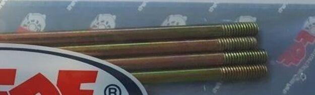 шпильки цилиндра  4шт. (2 195mm, 2 202mm) 100-110сс Дельта,  Альфа, TTR125