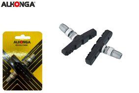 """Тормозные колодки """"ALHONGA"""", V-Brake, 60 мм, блистер (Тайвань, мультиколор, 4 цв., ALH_HJ-EN02)"""