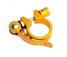 Хомут подседельного штыря с эксцентриком, 34,9 мм (золотистый, H34.9GOLD)