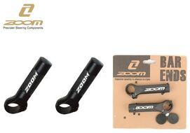 Рога на руль, ZOOM, алюминиевые, 95 мм, Lock On, блистер, 32AS (черный, RBEMT32AS001)
