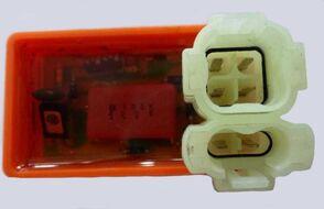 коммутатор (CDI) 139QMB,157QMJ,152QMI, AF27/28 (6конт.(4-2)) ораньжевый