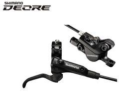 Тормоз задний (комплект) гидравлический BR-M506/BL-M447, PM/PM, 1400 мм, Deore SHIMANO (черный, AM506RRXRX140)